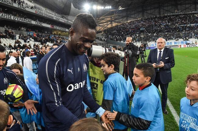 OM : Son but et sa célébration, Balotelli fait fureur !