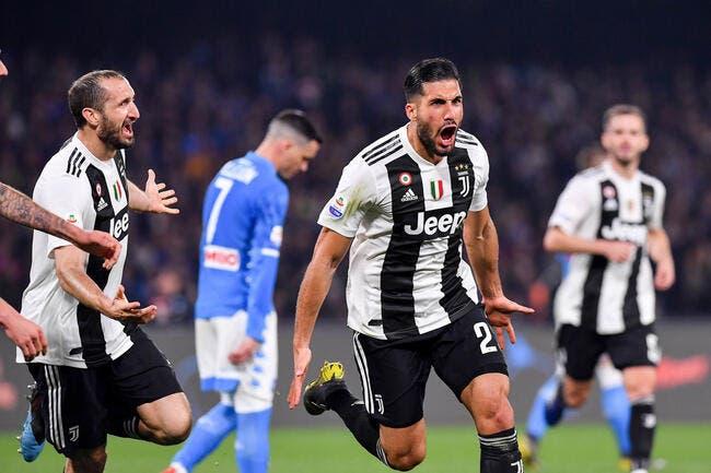 Serie A : La Juve tue tout suspense à Naples