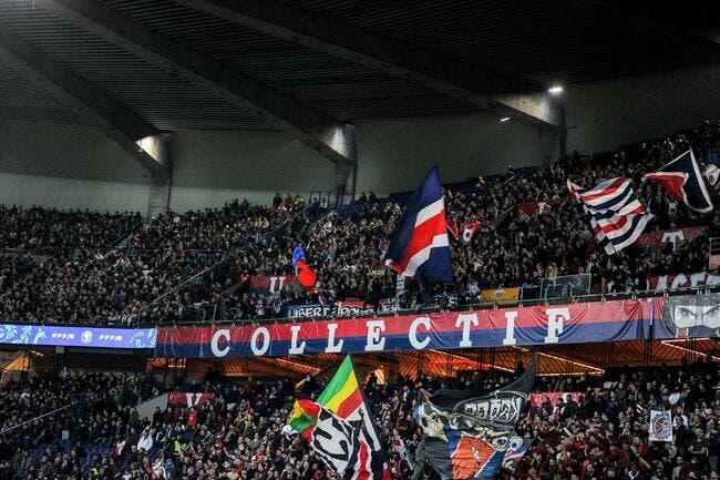 La reprise était tendue pour les joueurs devant les supporters — PSG