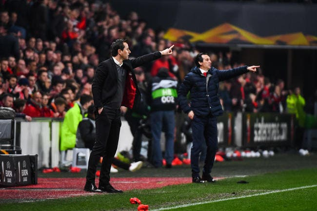 SRFC : Hatem Ben Arfa regarde Unai Emery et rigole