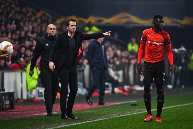 SRFC: Recadrer ses joueurs après Arsenal, Stéphan n'a pas osé