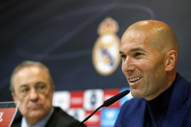 Esp : Zidane dit non à un retour fracassant au Real Madrid !