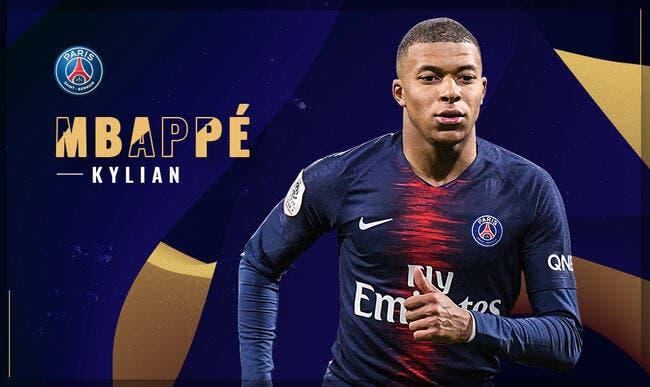 PSG : Kylian Mbappé élu joueur du mois de février en Ligue 1