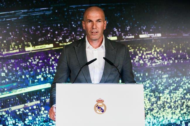 Esp : Dix mois plus tard, Zidane revient avec un salaire XXL au Real