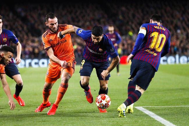 Lyon prend une gifle du Barça, mais...