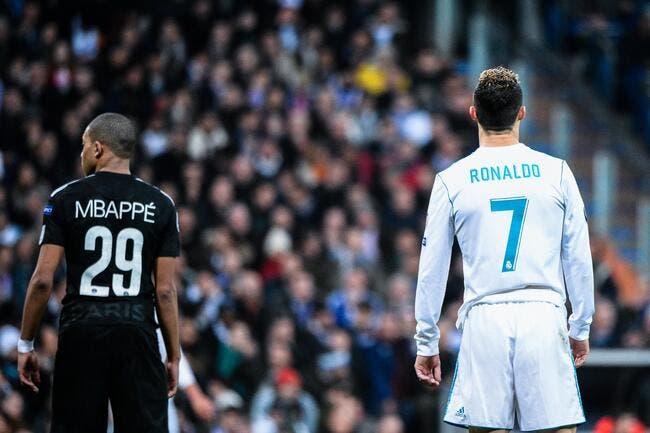 PSG: La Juventus allèche Kylian Mbappé, viens gagner avec Cristiano Ronaldo