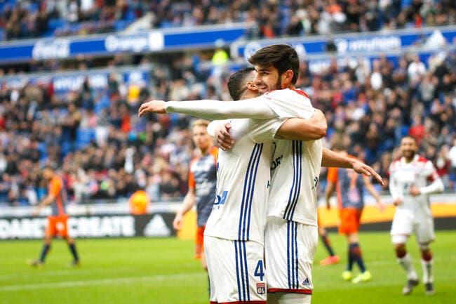 L1 : L'OL bat Montpellier et met une sacrée pression à Lille !