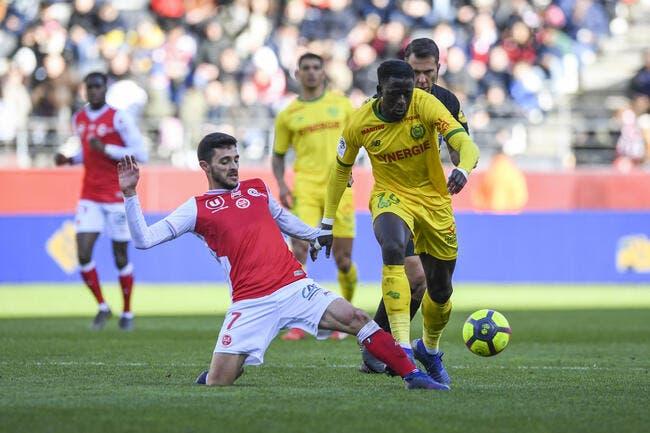 L1 : Reims maintient sa folle cadence, Nantes en fait les frais