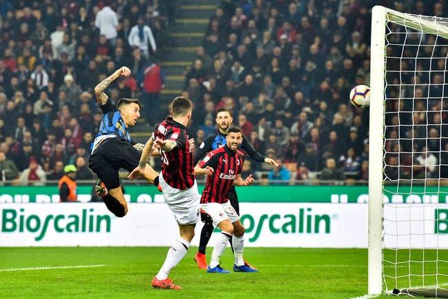 Serie A : L'Inter gagne le derby de Milan