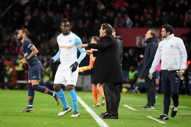 OM : Domenech défend Balotelli, non il n'a pas été nul face au PSG !