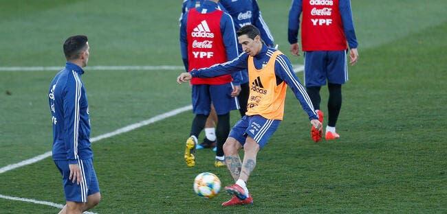PSG : Di Maria s'est blessé, l'Argentine le renvoie à Paris