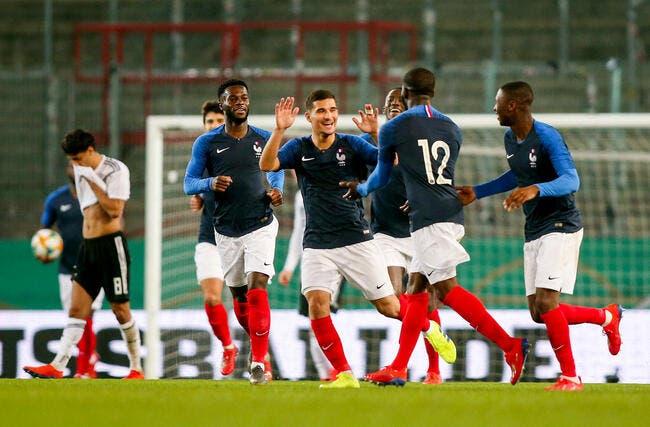 EdF : Les Bleuets engrangent en Allemagne, merci les Lyonnais