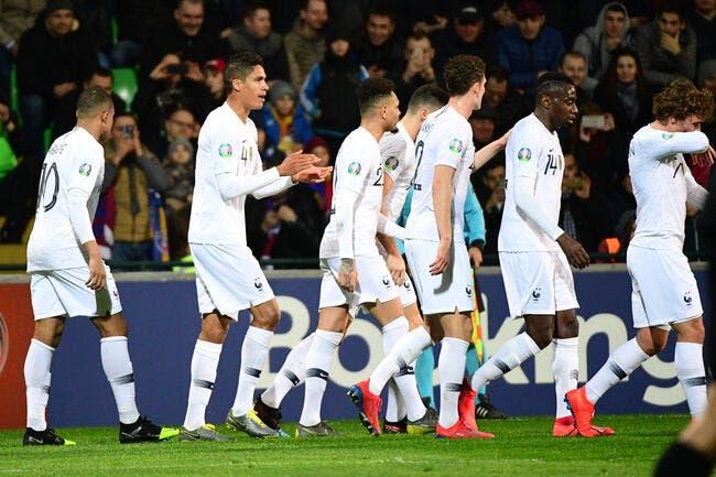Euro 2020 : La France fait un carton plein en Moldavie... ou pas