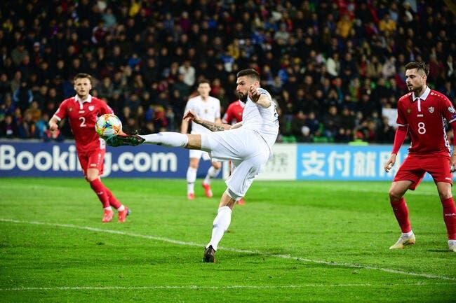 EdF: Moldavie, Europa League… Giroud est un tueur lâche Deschamps
