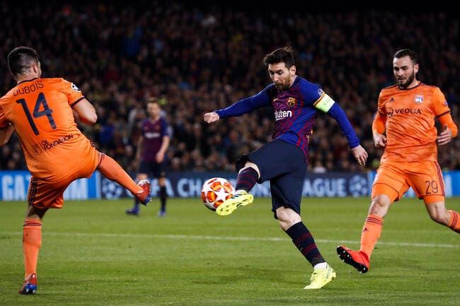 OL: La leçon de Messi, Dubois a encore des étoiles dans les yeux