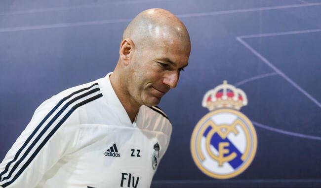 Real : De l'eau et des étirements, Zidane dévoile sa recette magique