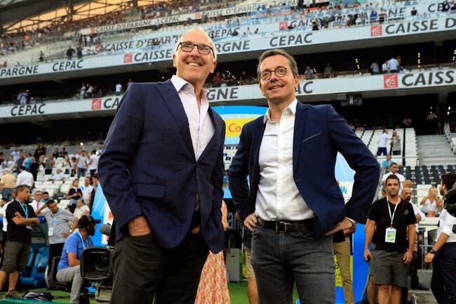 OM : Marseille doit doubler l'OL, Eyraud ne rigole plus