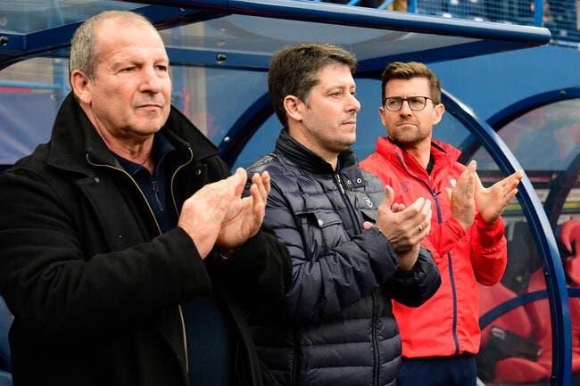 Caen: Courbis met Mercadal sur la touche pour la fin de saison