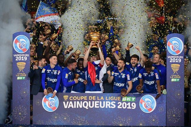 Cpe Ligue: Pierre Ménès s'enflamme pour Strasbourg, et pleure pour le foot