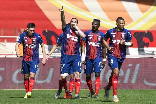 L1 : Dijon coule, Caen en profite grâce à un énorme Samba