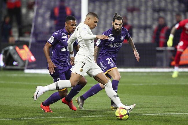 L1 : Encore et toujours Mbappé, le PSG s'en sort à Toulouse