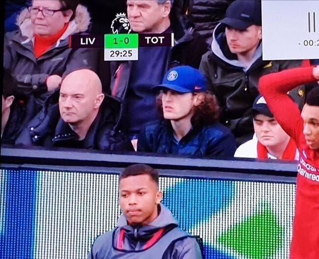 PSG : Rabiot grillé à Anfield pour voir Liverpool ? Presque...
