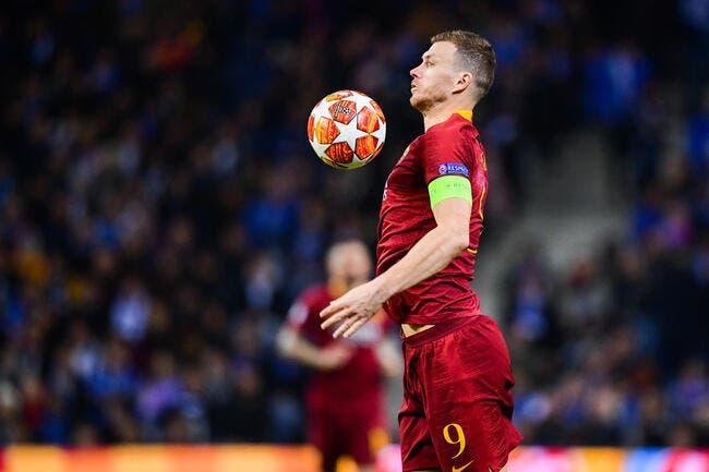 PSG : Le Qatar offre Cavani, Rome refuse l'échange avec Dzeko