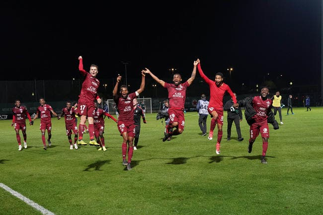 L2 : Metz champion, le Red Star relégué en National