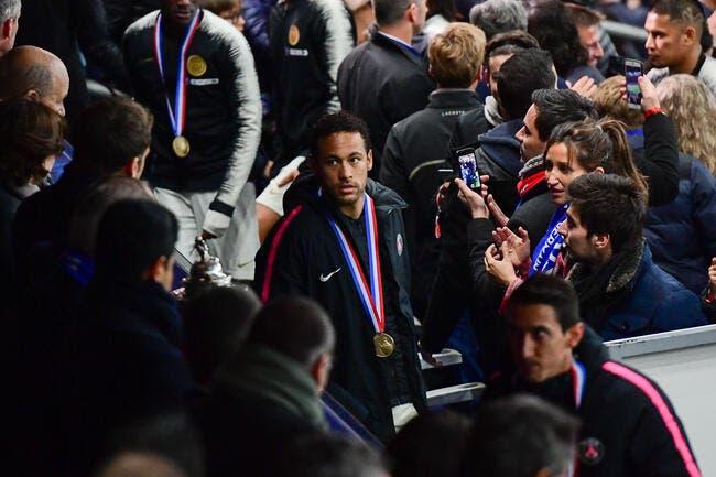 PSG : Une baffe de champion et de génie, il valide le geste de Neymar