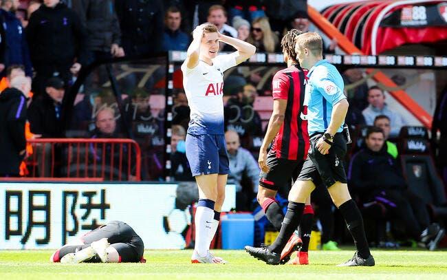 Ang : A 9 contre 11, Tottenham craque à l'ultime seconde