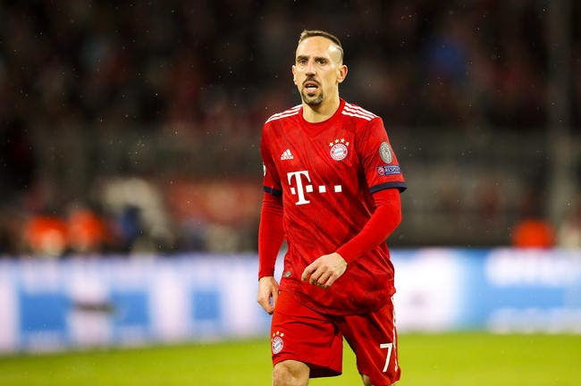 All : Le Bayern Munich officialise le départ de Franck Ribéry !