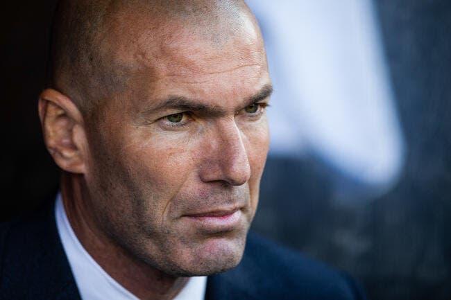 Esp : Zidane pousse trois joueurs dont une star vers la sortie !