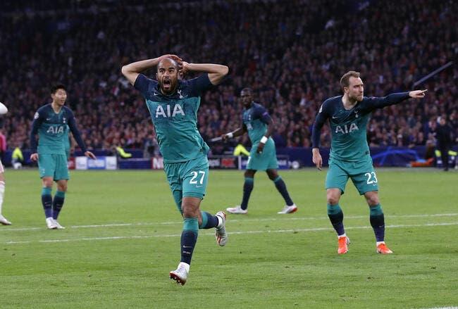 LdC : Triplé de Lucas et remontada en 45 minutes, Tottenham va en finale !