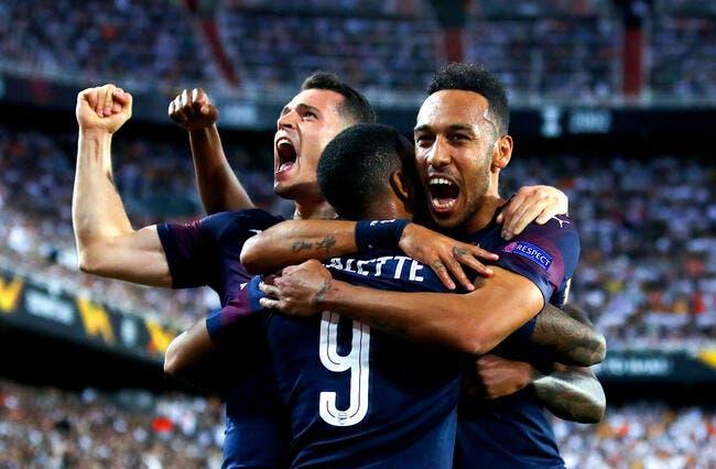 EL : Porté par Aubameyang et Lacazette, Arsenal se qualifie en finale