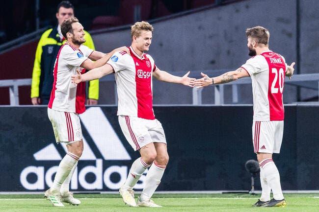 PSG: L'Ajax l'annonce, ses stars n'iront pas à Paris au mercato