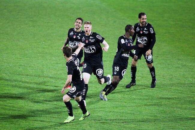 L2 : Brest est promu en Ligue 1 !