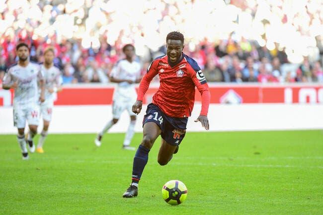 LOSC : Jonathan Bamba élu joueur du mois d'avril en L1