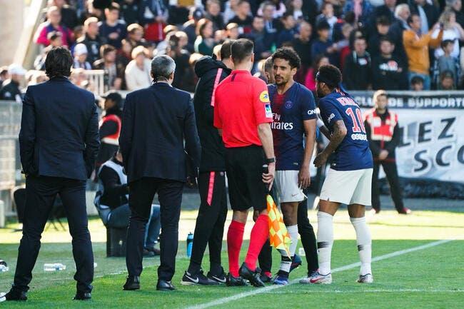 PSG : Marquinhos prêt à quitter Paris à cause d'un arbitre ?