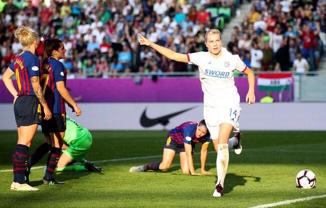 LdC : Les Lyonnaises écrasent le Barça et l'Europe !