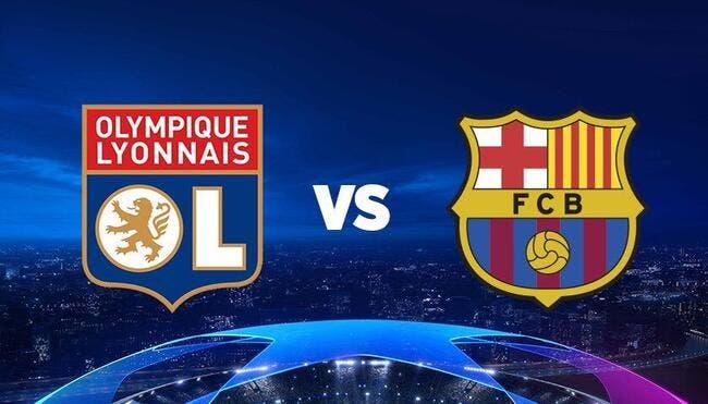 OL - FC Barcelone : Les compos (18h sur TMC et Canal+)