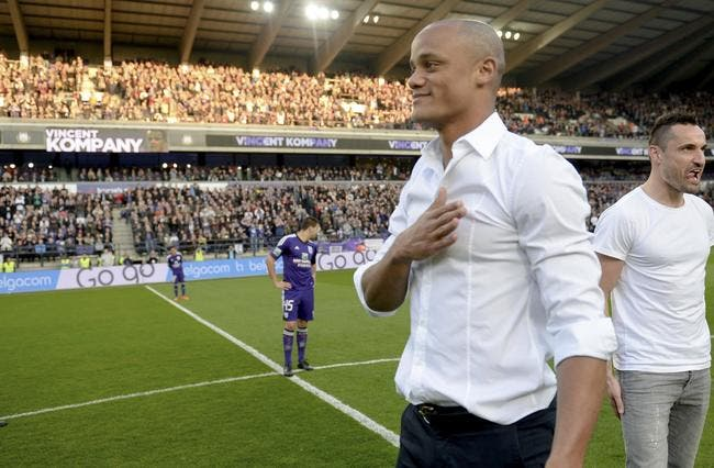 Bel : Kompany entraîneur-joueur d'Anderlecht pour 3 ans !