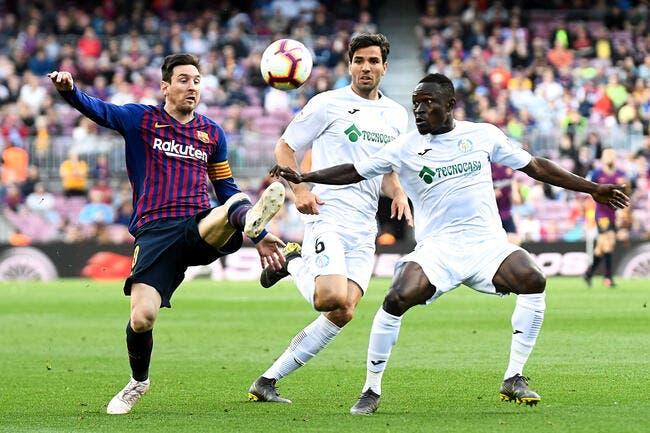 Esp : Le Barça accroché malgré un doublé de Messi
