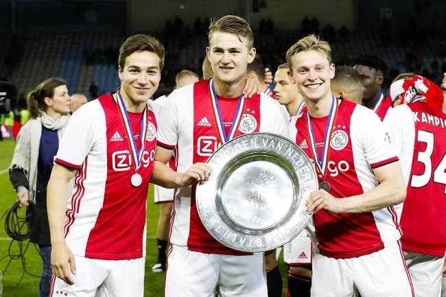 Matthijs De Ligt (Ajax Amsterdam) serait tout proche du FC Barcelone — Mercato