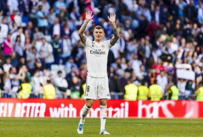 Esp : Toni Kroos prolonge jusqu'en 2023 au Real Madrid
