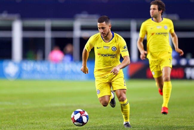 Mercato : Chelsea réclame 100 ME au Real pour Hazard !