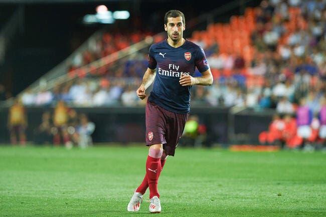 Officiel: Henrikh Mkhitaryan est Arménien, il ne jouera donc pas la finale d'Europa League