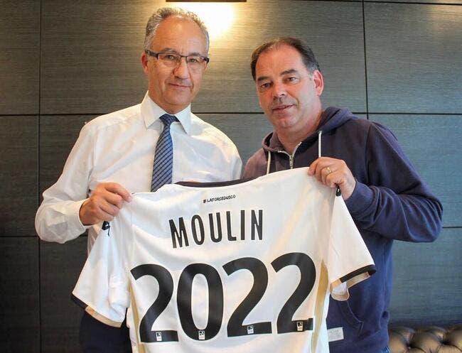 Officiel : Stéphane Moulin prolonge jusqu'en 2022 à Angers