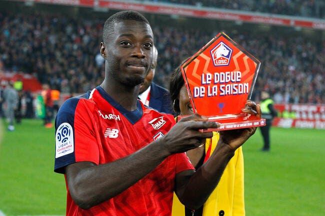 PSG : Paris veut Nicolas Pépé, ça fait des jaloux en Angleterre