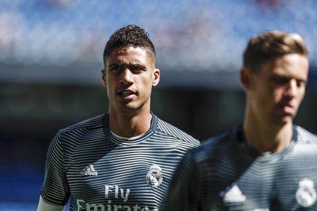 PSG : Paris peut l'oublier, Varane reste au Real Madrid !