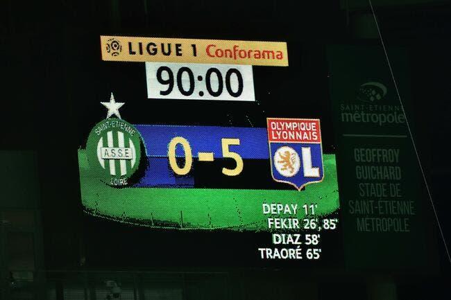 OL : 0-5 contre l'ASSE et Moscou, Genesio n'oubliera jamais